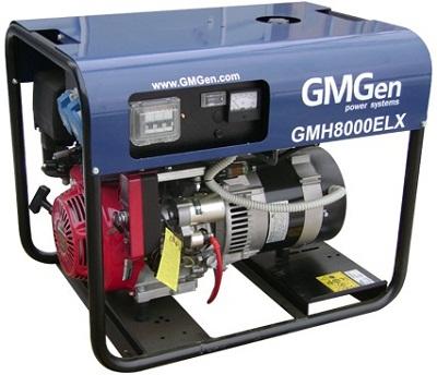 Портативные бензиновые электростанции GMGen, мощностью  до 11 кВт